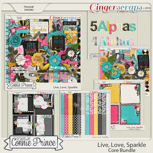 Live, Love, Sparkle - Core Bundle