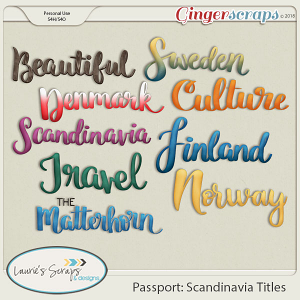 Passport: Scandinavia Titles