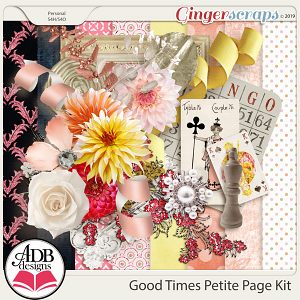 Good Times Petite Page Kit by ADB Designs