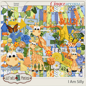 I Am Silly Bundle by Scraps N Pieces