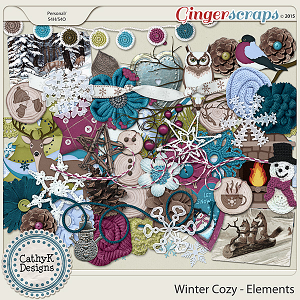 Winter Cozy - Elements