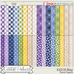 #2018 May - Extra Papers by Connie Prince