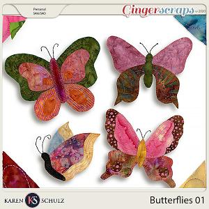 Butterflies 01 by Karen Schulz