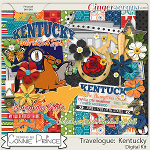 Travelogue Kentucky - Kit by Connie Prince