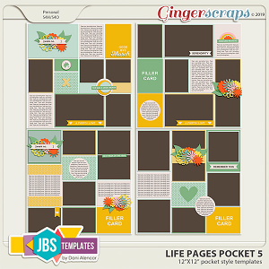 Life Pages Pocket 5 by JB Studio