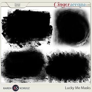 Lucky Me Masks by Karen Schulz