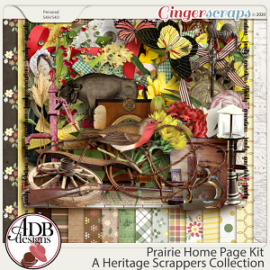 Prairie Home Page Kit by ADB Designs