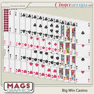 Big Win Casino PLAYING CARDS by MagsGraphics