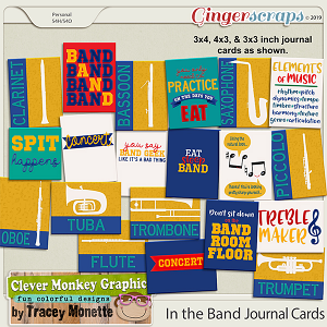 In the Band Journal Cards by Clever Monkey Graphics