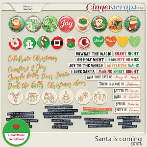 Santa is coming - extra