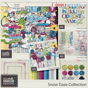 Snow Daze Collection by Aimee Harrison