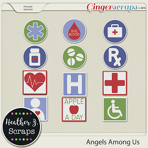 Angels Among Us {Stickers}