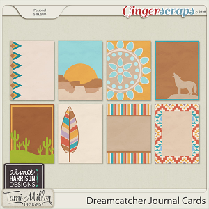 Dreamcatcher Journal Cards by Aimee Harrison and Tami Miller