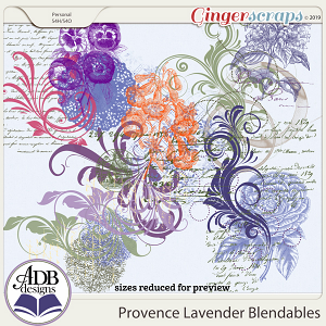 Provence Lavender Blendables by ADB Designs