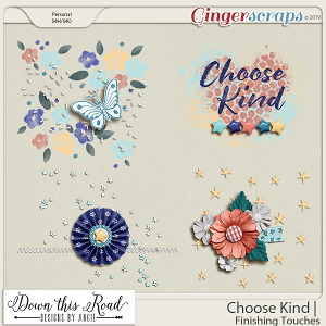 Choose Kind | Finishing Touches