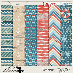 Oceanic: Worn Out Papers by LDragDesigns