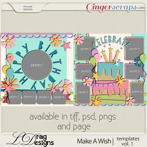 Make A Wish: Templates Vol. 1 by LDrag Designs