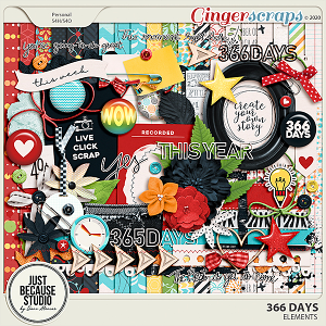 366 Days Page Kit by JB Studio