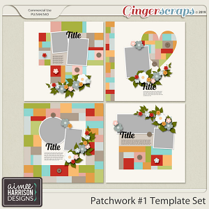 Patchwork #1 Templates by Aimee Harrison