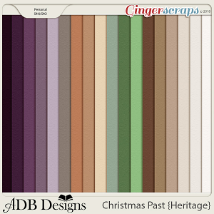 Christmas Past Cardstock Solids by ADB Designs