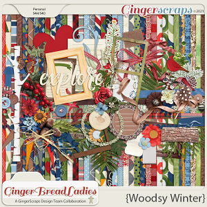 GingerBread Ladies Collab: Woodsy Winter