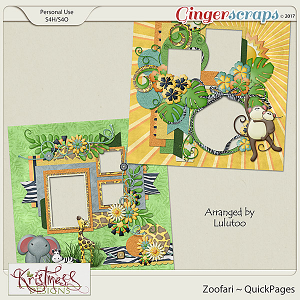 Zoofari QuickPages