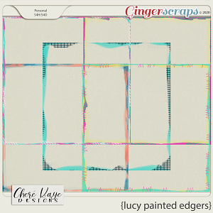 Lucy Painted Edgers by Chere Kaye Designs