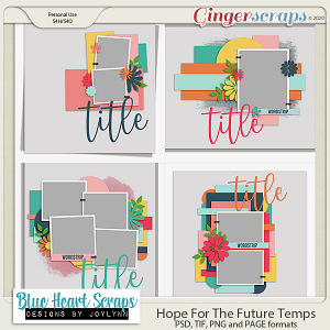Hope For The Future Template Pack