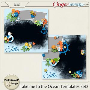 Take me to the Ocean Templates Set3