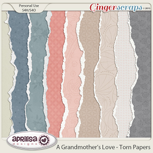 A Grandmother's Love  - Torn Papers