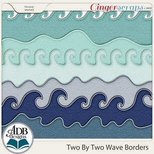 Two By Two Borders by ADB Designs