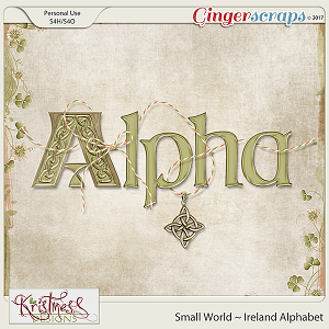 Small World ~ Ireland Alphabet