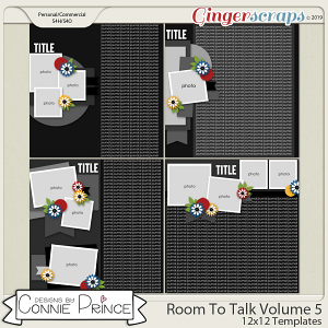 Room To Talk Volume 5 - 12x12 Temps (CU Ok) by Connie Prince