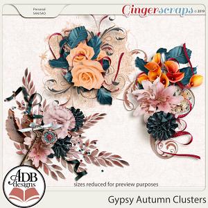 Gypsy Autumn Clusters by ADB Designs