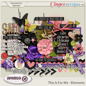 This Is For Me - Elements by Aprilisa Designs