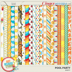 Pool Party Papers by JB Studio