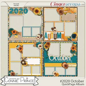 #2020 October - Quick Pages by Connie Prince