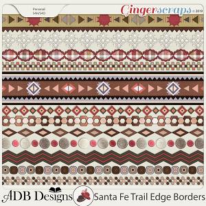 Santa Fe Trail Edge Borders by ADB Designs