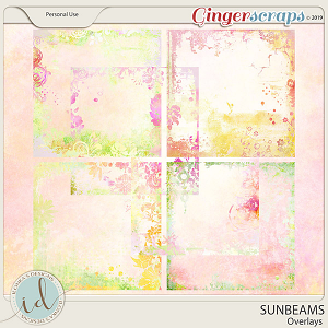 Sunbeams Overlays by Ilonka's Designs