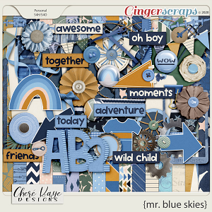 Mr Blue Skies by Chere Kaye Designs
