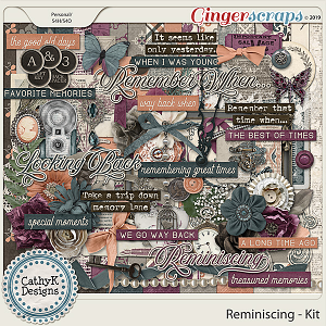 Reminiscing - Kit by CathyK Designs