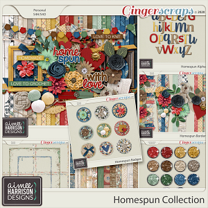 Homespun Collection by Aimee Harrison