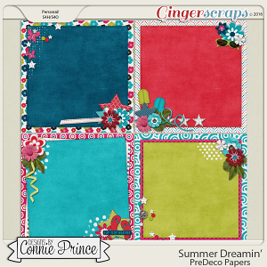 Summer Dreamin' - PreDeco Papers