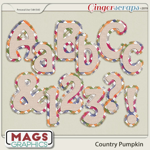 Country Pumpkin ALPHA by MagsGraphics