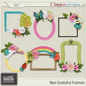 Bee Grateful Frame Clusters by Aimee Harrison