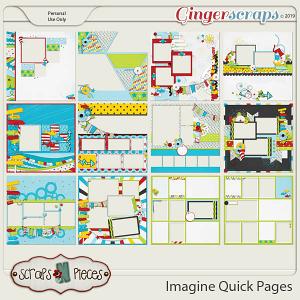 Imagine Quick Pages by Scraps N Pieces