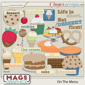On The Menu DESSERT PACK by MagsGraphics