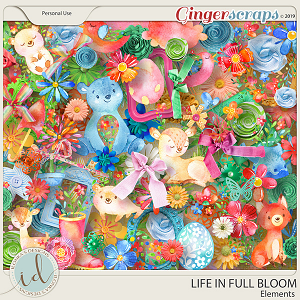 Life In Full Bloom Elements by Ilonka's Designs