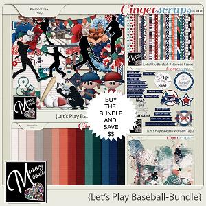 Let's Play Baseball-Bundle by Memory Mosaic
