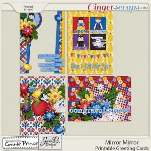 Mirror Mirror - Printable Greeting Cards
